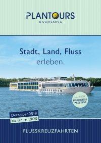 Plantours Flussreisen 2018 2019